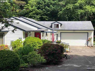 Lincoln City Single Family Home For Sale: 55 Seagrove Pl