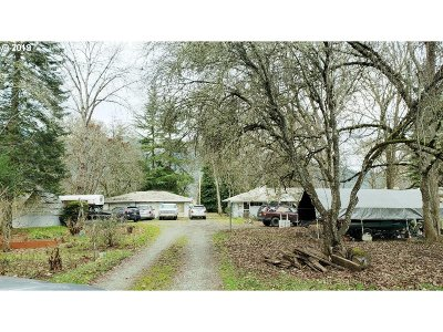 Myrtle Creek Single Family Home For Sale: 313 N Old Pacific Hwy