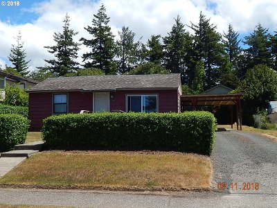 Coos Bay Single Family Home For Sale: 423 S Wasson