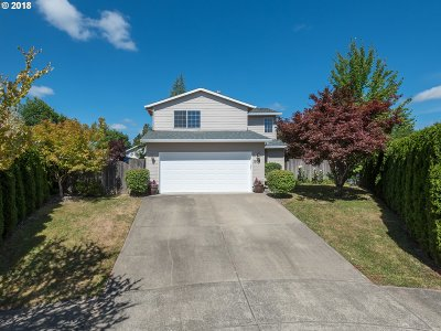 Forest Grove Single Family Home For Sale: 1208 Marvin Ct