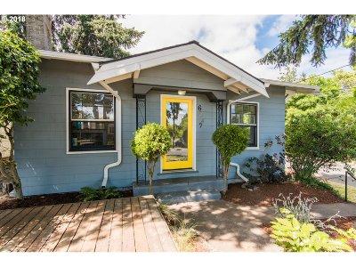 Portland Single Family Home For Sale: 6849 N Montana Ave
