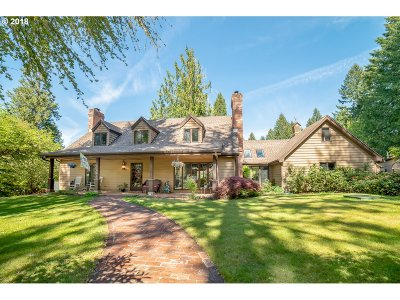Cottage Grove, Creswell Single Family Home For Sale: 32751 Glaisyer Hill Rd