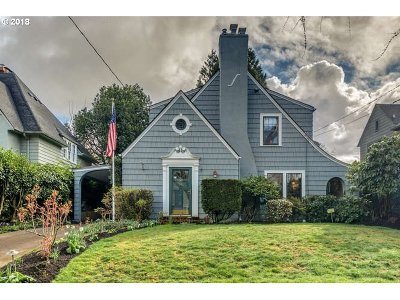 Portland OR Single Family Home For Sale: $749,000