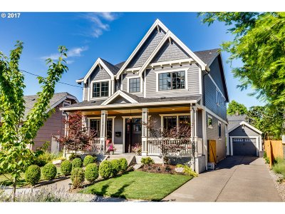 Clackamas County, Multnomah County, Washington County Single Family Home For Sale: 2945 NE 48th Ave