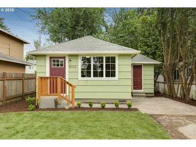 Happy Valley, Clackamas Single Family Home For Sale: 8312 SE Clatsop St