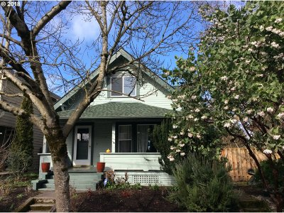Portland Single Family Home For Sale: 2819 N Terry St