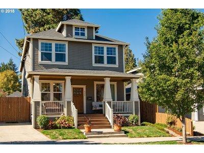 Multnomah County Single Family Home For Sale: 8229 N Fiske Ave