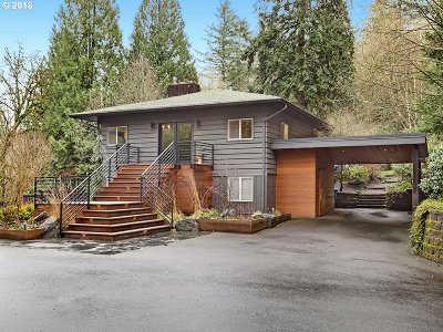 Portland Single Family Home For Sale: 11000 SW Boones Ferry Rd