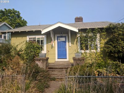 Single Family Home For Sale: 4434 SE 26th Ave