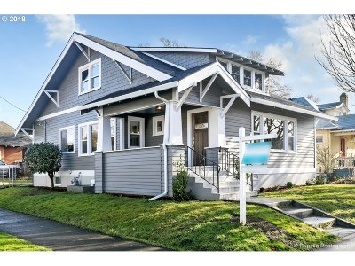 Single Family Home For Sale: 4746 NE 20th Ave