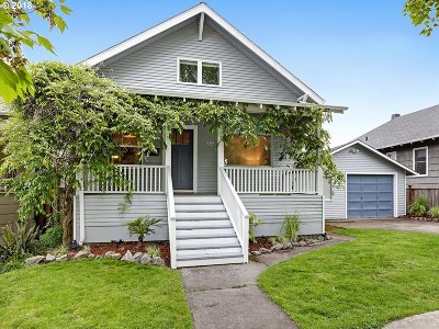 Portland Single Family Home For Sale: 3027 SE 28th Ave