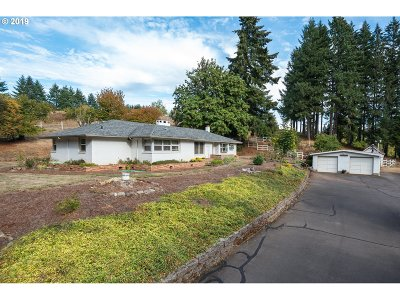 West Linn Single Family Home For Sale: 26410 SW Petes Mountain Rd
