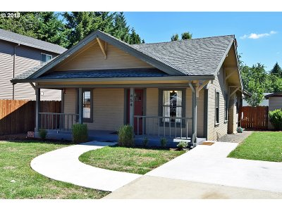 Canby Single Family Home For Sale: 454 S Fir St