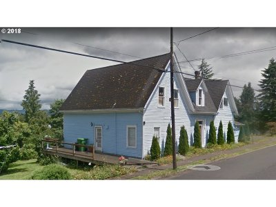 Rainier Single Family Home For Sale: 313 Columbia River Hwy