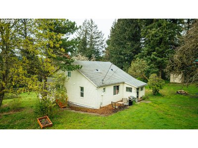 Cowlitz County Single Family Home For Sale: 1745 S Cloverdale Rd
