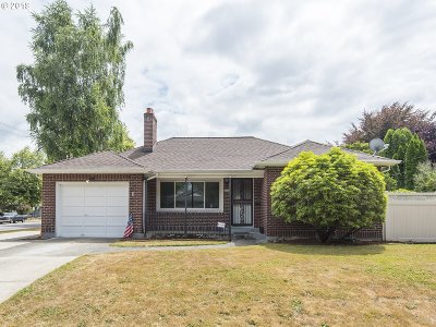 Portland Single Family Home For Sale: 9136 N Polk Ave