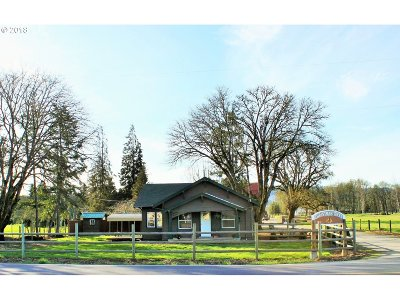 Lane County Single Family Home For Sale: 82232 Hwy 99