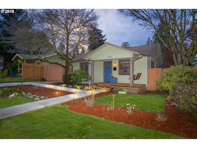 Single Family Home For Sale: 4537 NE 98th Ave