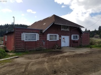 Coos Bay Single Family Home For Sale: 95646 Coos-Sumner Ln