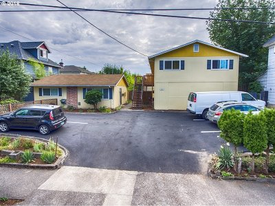Portland OR Multi Family Home For Sale: $1,100,000