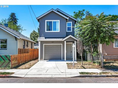 Multnomah County Single Family Home For Sale: 5117 SE 78th Ave