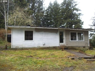Coos Bay Single Family Home For Sale: 62332 Olive Barber Rd