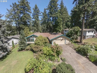 Lake Oswego Single Family Home For Sale: 17411 Tree Top Ln