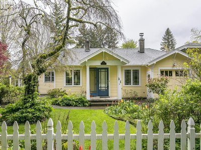 Lake Oswego Single Family Home For Sale: 691 7th St