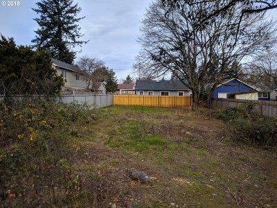 Portland Residential Lots & Land For Sale: 12334 SE Kelly St
