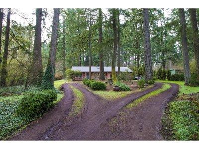 Oregon City Single Family Home For Sale: 16519 S Bradley Rd