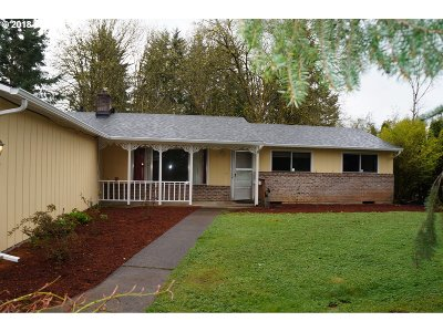 Oregon City Single Family Home For Sale: 14566 Thayer Rd