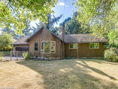 Portland Single Family Home For Sale: 9560 SW 69th Ave