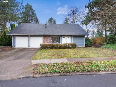 Portland Single Family Home For Sale: 20370 NW Rock Creek Blvd