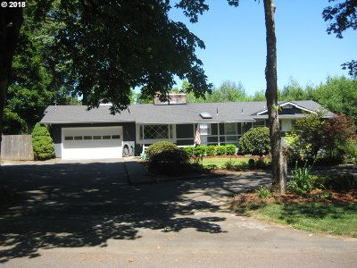 Milwaukie Single Family Home For Sale: 2451 SE Risley Ave