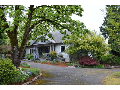 Milwaukie Single Family Home For Sale: 3816 SE Concord Rd