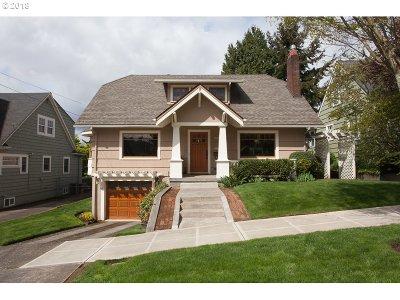 Portland Single Family Home For Sale: 3403 NE 31st Ave