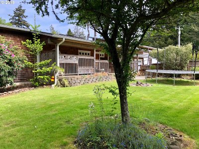 Bandon Single Family Home For Sale: 88429 Hwy 42 S