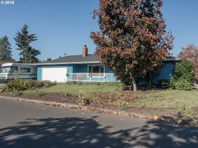 Eugene OR Single Family Home For Sale: $299,000