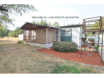 Stayton Single Family Home Sold: 11355 Dusty Pl