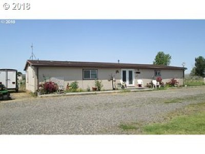 Hermiston Single Family Home Bumpable Buyer: 81344 N Golda Rd
