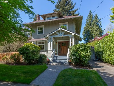 Portland Single Family Home For Sale: 2009 NE 24th Ave