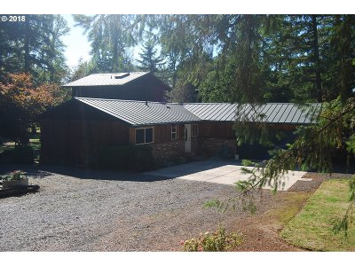 Eagle Creek Single Family Home For Sale: 33944 SE Wildcat Mountain Dr