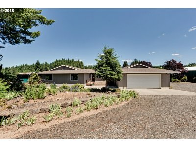 Estacada Single Family Home For Sale: 40621 SE George Rd