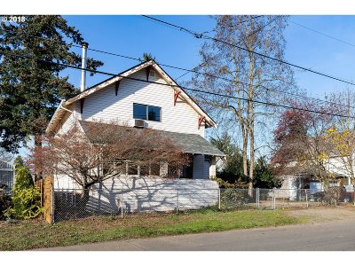 Single Family Home For Sale: 6537 SE 67th Ave