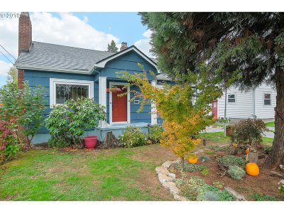 Portland Single Family Home For Sale: 4821 NE 100th Ave