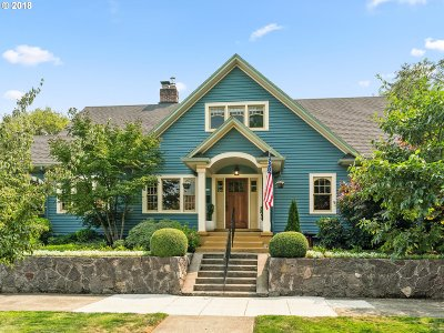 Portland Single Family Home For Sale: 4028 NE 26th Ave