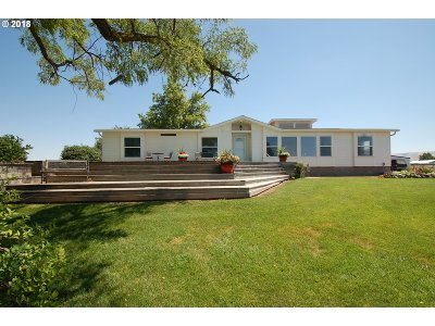 Umatilla County Single Family Home For Sale: 71737 Patawa Rd