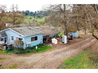 Yamhill Single Family Home For Sale: 24400 NW Bishop Scott Rd