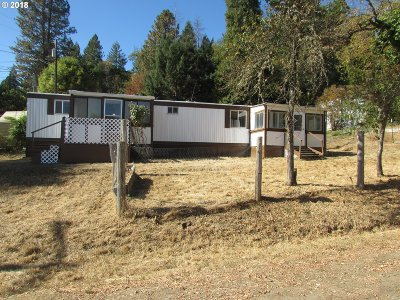 Canyonville Single Family Home For Sale: 410 Leland Ave