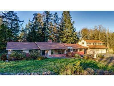 Single Family Home For Sale: 14225 NW Pioneer Rd